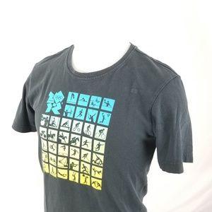 Adidas T-Shirt Graphic Tee London 2012 Olympics